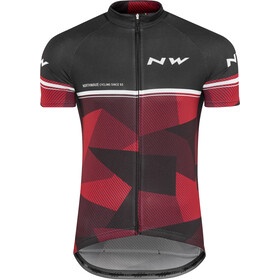 Northwave Origin SS Jersey Herren black/red